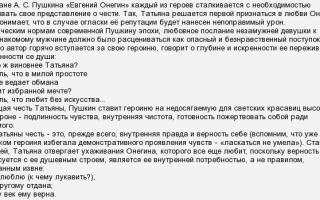 Анализ романа пушкина евгений онегин сочинение