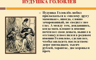 Иудушка в романе головлева в романе господа головлевы характеристика и образ