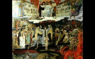 Сочинение по картине васнецова страшный суд описание описание