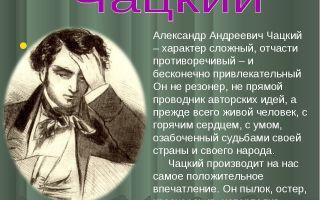 Фамусов и чацкий в комедии горе от ума сочинение