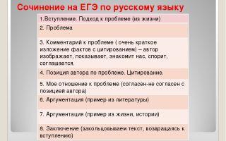 Сочинения по русскому языку