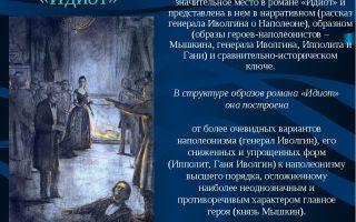 Сочинение ипполит в романе идиот достоевского характеристика образ