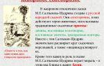Сочинение сказки салтыкова-щедрина 7, 10 класс