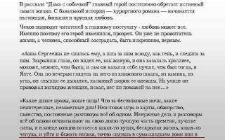 Характеристика и образ анны сергеевны в рассказе дама с собачкой чехова сочинение