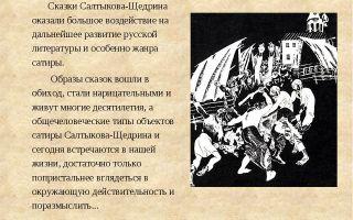 Смешны или грустны финалы сказок салтыкова-щедрина? сказок