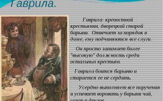 Образ и характеристика гаврилы в рассказе муму тургенева сочинение