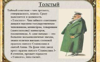 Характеристика толстого и тонкого в рассказе чехова сочинение