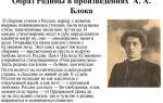 Тема и образ россии в творчестве блока (в лирике, стихах) сочинение