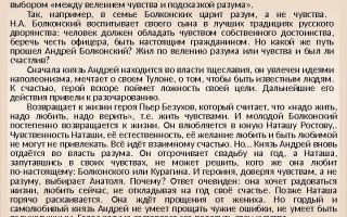 Анализ романа толстого война и мир