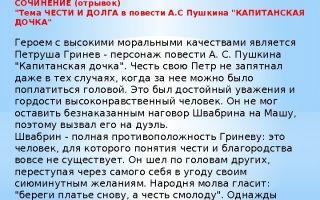Сочинение народ в повести капитанская дочка пушкина