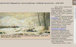 Сочинения по картинам верещагина