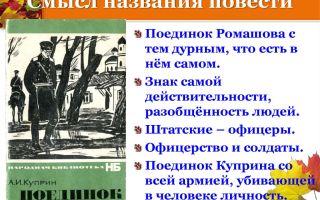 Образ и характеристика ромашова в повести поединок куприна