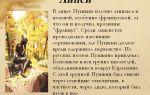 Пушкин лицеист 6 класс сочинение сообщение