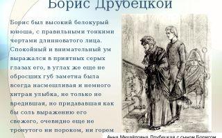 Образ и характеристика бориса друбецкого в романе война и мир сочинение