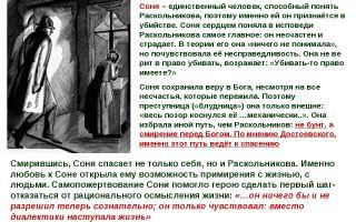 Образ вечной сонечки в романе достоевского преступление и наказание сочинение