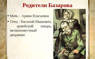 Арина власьевна мать базарова в романе отцы и отцы тургенева характеристика и образ