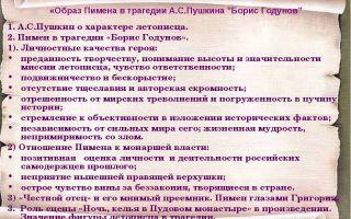 Борис годунов в трагедии борис годунов пушкина характеристика, образ