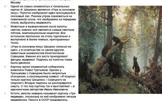 Сочинение по картине утро в сосновом лесу (бору) шишкина 2 класс описание