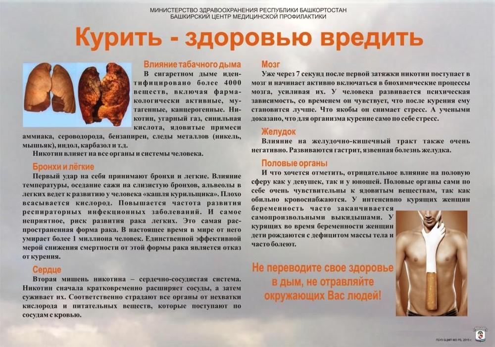 Памятка курильщику картинки
