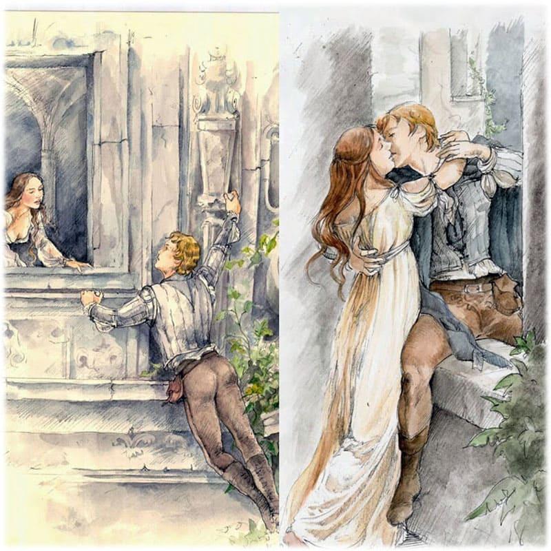делать рисунки из произведений шекспира то, что